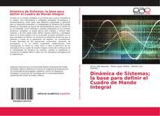 Bookcover of Dinámica de Sistemas; la base para definir el Cuadro de Mando Integral