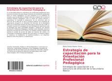 Bookcover of Estrategia de capacitación para la Orientación Profesional Pedagógica