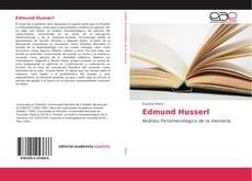 Couverture de Edmund Husserl