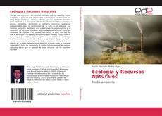 Capa do livro de Ecología y Recursos Naturales