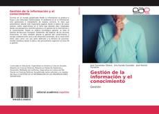 Copertina di Gestión de la información y el conocimiento