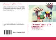 Capa do livro de Educador Social y TIC en contextos formativos