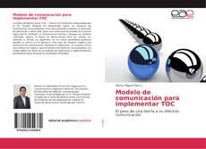 Buchcover von Modelo de comunicación para implementar TOC