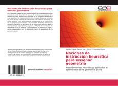 Capa do livro de Nociones de instrucción heurística para enseñar geometría