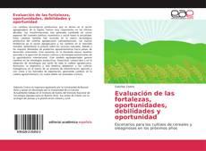 Bookcover of Evaluación de las fortalezas, oportunidades, debilidades y oportunidad