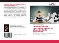 Buchcover von Influencia de la motricidad ocular en el rendimiento académico