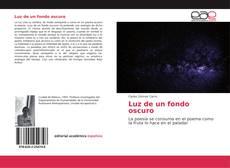 Borítókép a  Luz de un fondo oscuro - hoz