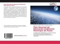 Portada del libro de Plan Decenal de Educación Ambiental Municipio de Pasto