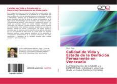 Portada del libro de Calidad de Vida y Estado de la Dentición Permanente en Venezuela
