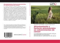 Bookcover of Afrontamiento y factores psicosociales en sobrevivientes de cáncer