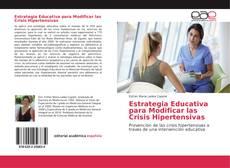 Portada del libro de Estrategia Educativa para Modificar las Crisis Hipertensivas