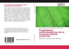 Bookcover of Propiedades antimutagénicas de la carqueja, planta medicinal