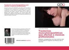 Capa do livro de Trastornos musculoesqueléticos que afectan a músicos profesionales