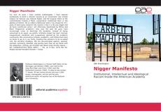 Bookcover of Nigger Manifesto