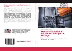 Capa do livro de Hacia una política social del tiempo de trabajo