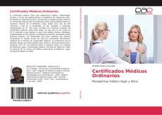 Capa do livro de Certificados Médicos Ordinarios