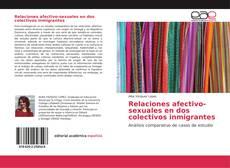 Capa do livro de Relaciones afectivo-sexuales en dos colectivos inmigrantes