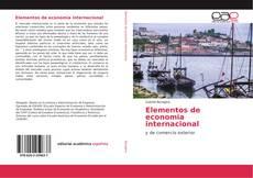 Bookcover of Elementos de economia internacional
