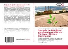 Capa do livro de Síntesis de Biodiesel empleando Aceite de Tártago (Ricinus Communis)