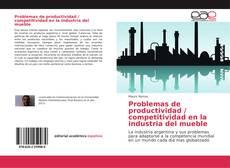 Buchcover von Problemas de productividad / competitividad en la industria del mueble