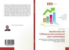 Couverture de Amélioration de l'efficience d'un processus semi automatique