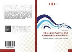 Обложка Tribological Analysis and Characterization of HVOF