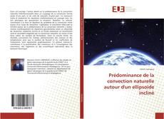 Portada del libro de Prédominance de la convection naturelle autour d'un ellipsoïde incliné