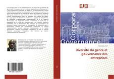 Buchcover von Diversité du genre et gouvernance des entreprises