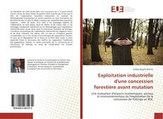 Bookcover of Exploitation industrielle d'une concession forestière avant mutation