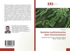 Capa do livro de Bactéries multirésistantes dans l'environnement