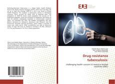 Drug resistance tuberculosis: kitap kapağı