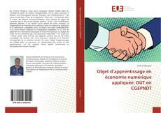 Bookcover of Objet d'apprentissage en économie numérique appliquée: DUT en CGEPNDT