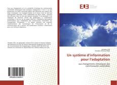 Bookcover of Un système d'information pour l'adaptation