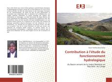 Buchcover von Contribution à l'étude du fonctionnement hydrologique
