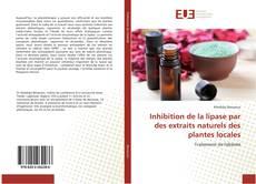 Couverture de Inhibition de la lipase par des extraits naturels des plantes locales