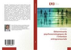 Обложка Déterminants psychosociologiques de l'intention entrepreneuriale