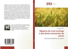 Bookcover of Réponse du maïs ensilage à des doses croissantes de cuivre