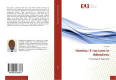 Couverture de Nominal Structures in Adioukrou