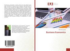 Couverture de Business Economics