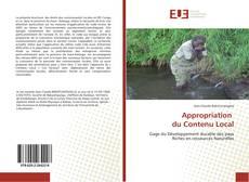 Appropriation du Contenu Local kitap kapağı