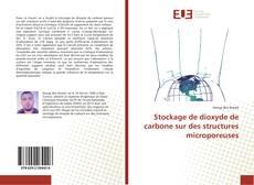 Capa do livro de Stockage de dioxyde de carbone sur des structures microporeuses