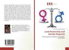 Bookcover of Land Ownership and Gender Disparity