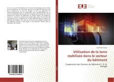 Buchcover von Utilisation de la terre stabilisée dans le secteur du bâtiment