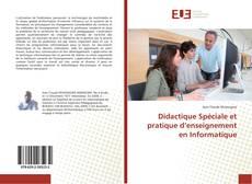 Capa do livro de Didactique Spéciale et pratique d'enseignement en Informatique
