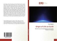 Portada del libro de Origin of Life on Earth