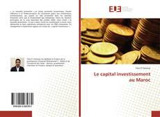 Le capital investissement au Maroc的封面