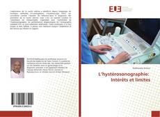 Buchcover von L'hystérosonographie: Intérêts et limites