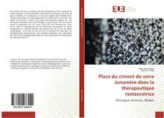 Bookcover of Place du ciment de verre ionomère dans la thérapeutique restauratrice