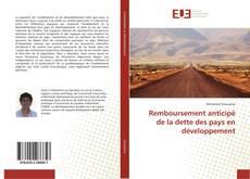 Bookcover of Remboursement anticipé de la dette des pays en développement