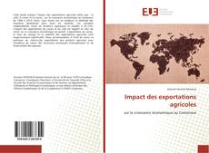 Bookcover of Impact des exportations agricoles